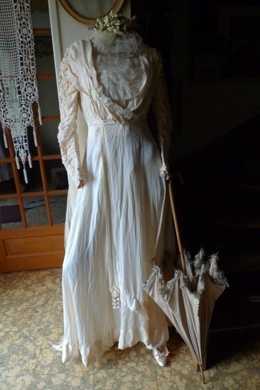 Ensemble De Mariee Annees 1900 Mannequins Mode Tutu