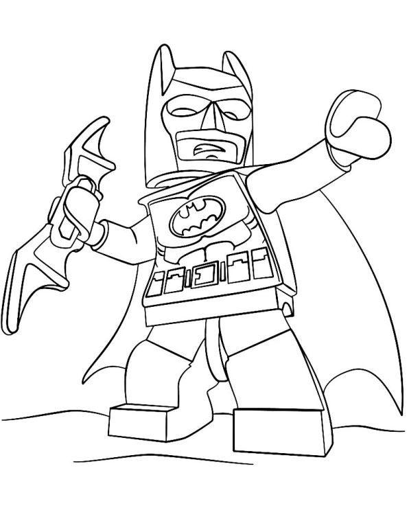 Coloring Page Lego Batman Movie Lego Batman 2 Batman Coloring