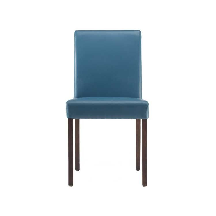 Excellent 225 Modern Grey Basic Leather Dining Chair Seattle Download Free Architecture Designs Viewormadebymaigaardcom