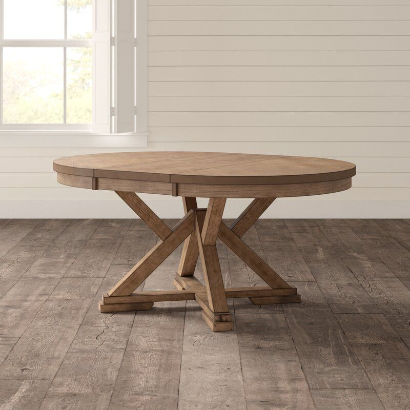 Carnspindle Extendable Dining Table Reviews Birch Lane Round Extendable Dining Table Oval Table Dining Extendable Dining Table