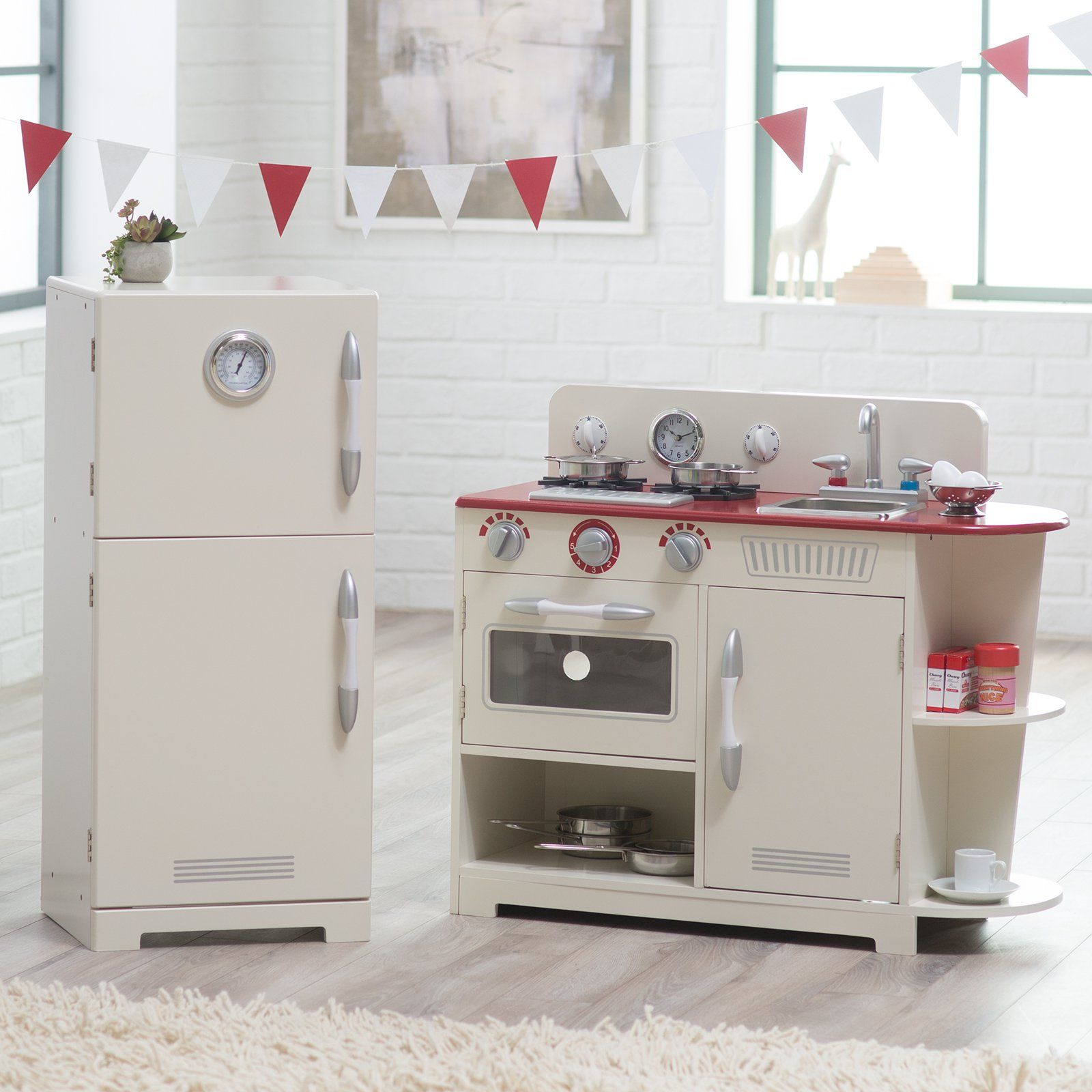 Teamson Kids Classic Play Kitchen | from hayneedle.com | Classroom ...