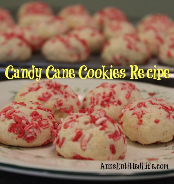 These Candy Cane Cookies will make your entire house smell like