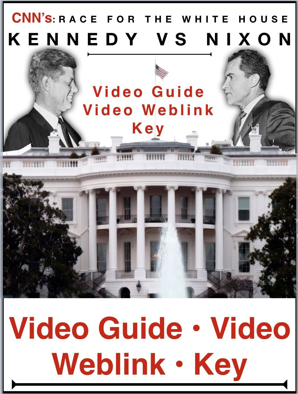 Race To The Whitehouse Kennedy V Nixon Video Guide Plus Video Web Link