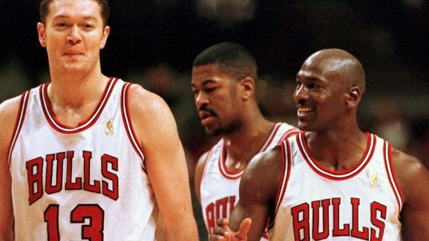 Luc Longley - from running with the Chicago Bulls to falling in ... 804ce014c