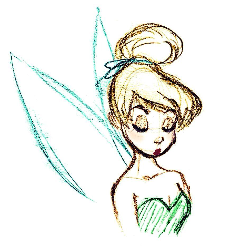 Campanita Disney Drawings Disney Sketches Disney Art