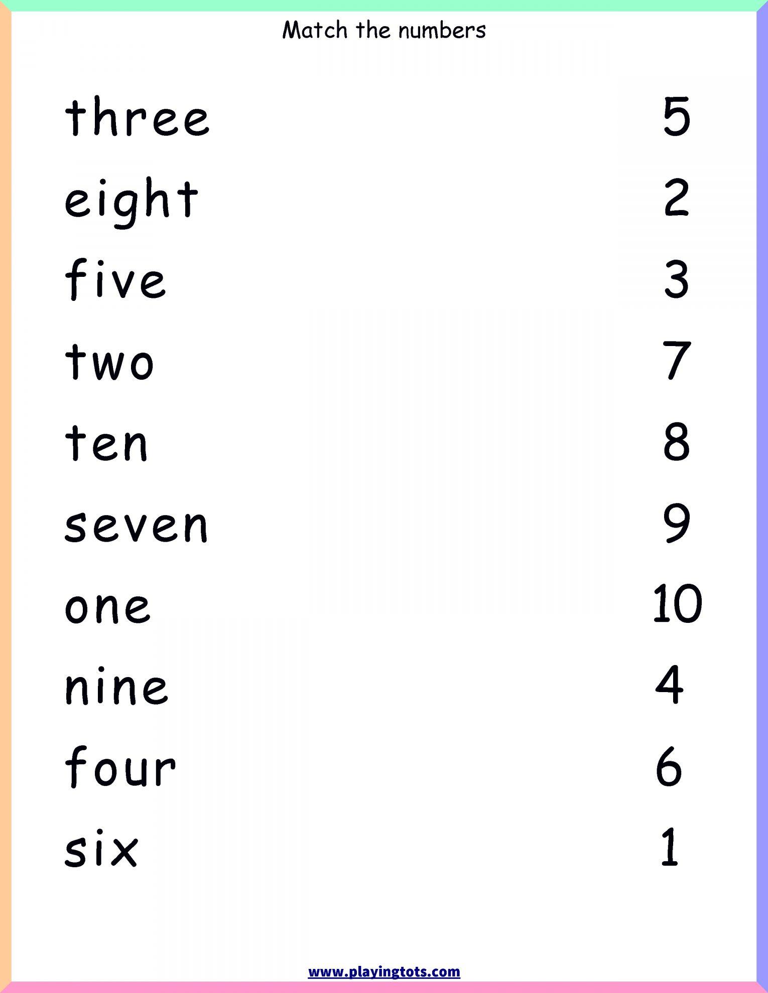 16 Preschool Name Charts Worksheet Number Words Worksheets Kindergarten Reading Worksheets English Lessons For Kids [ 1980 x 1530 Pixel ]