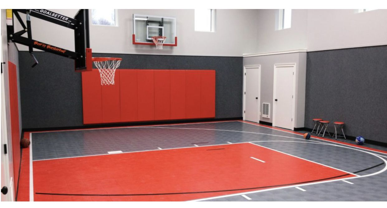 Pin By Jacey Harder On Ll Gym Area Indoor Basketball Court Basketball Court Indoor Basketball
