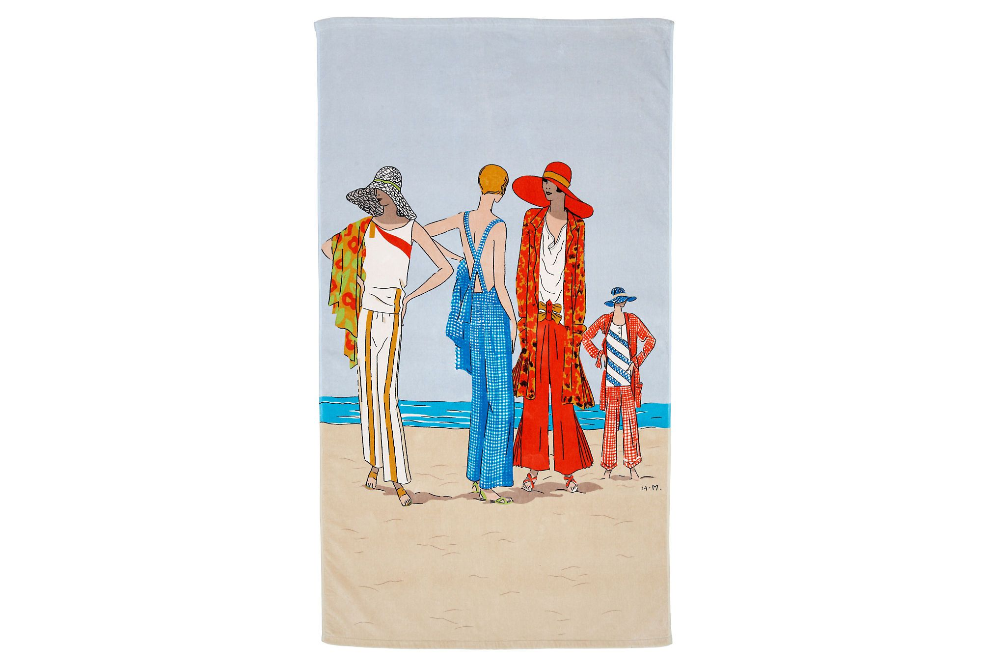 One Kings Lane Get Me To The Beach Conde Nast Beach Towel