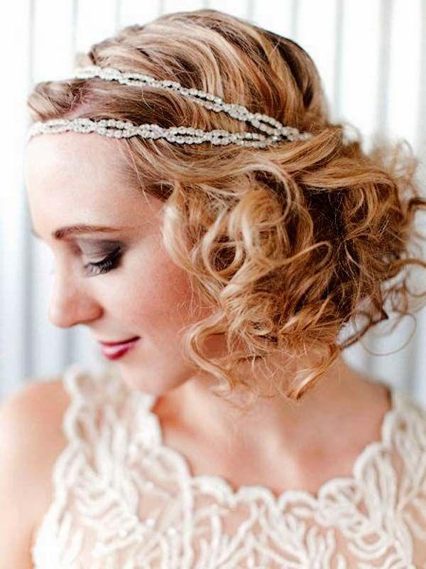 Elegant Hairstyle Ideas Vintage Inspired Piled Ringlet