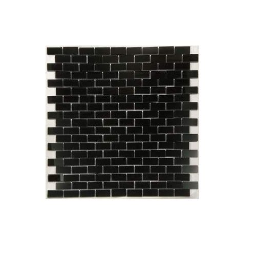 Small Subway Mirror Black Mirror Mosaic Tile Mirror Mirror Tiles
