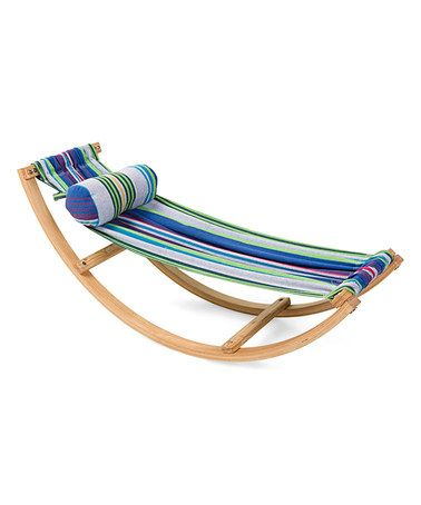 Admirable 65 99 Marked Down From 89 98 Blue Stripe Rocking Hammock Bralicious Painted Fabric Chair Ideas Braliciousco