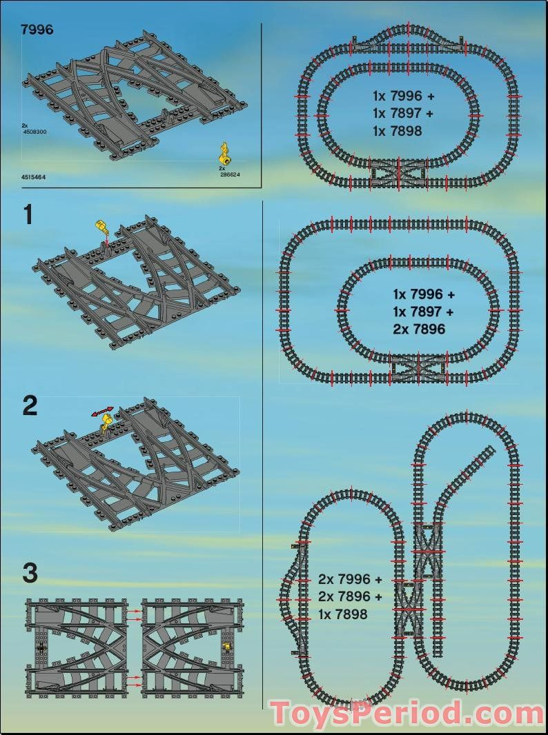 layout lego trainstrain