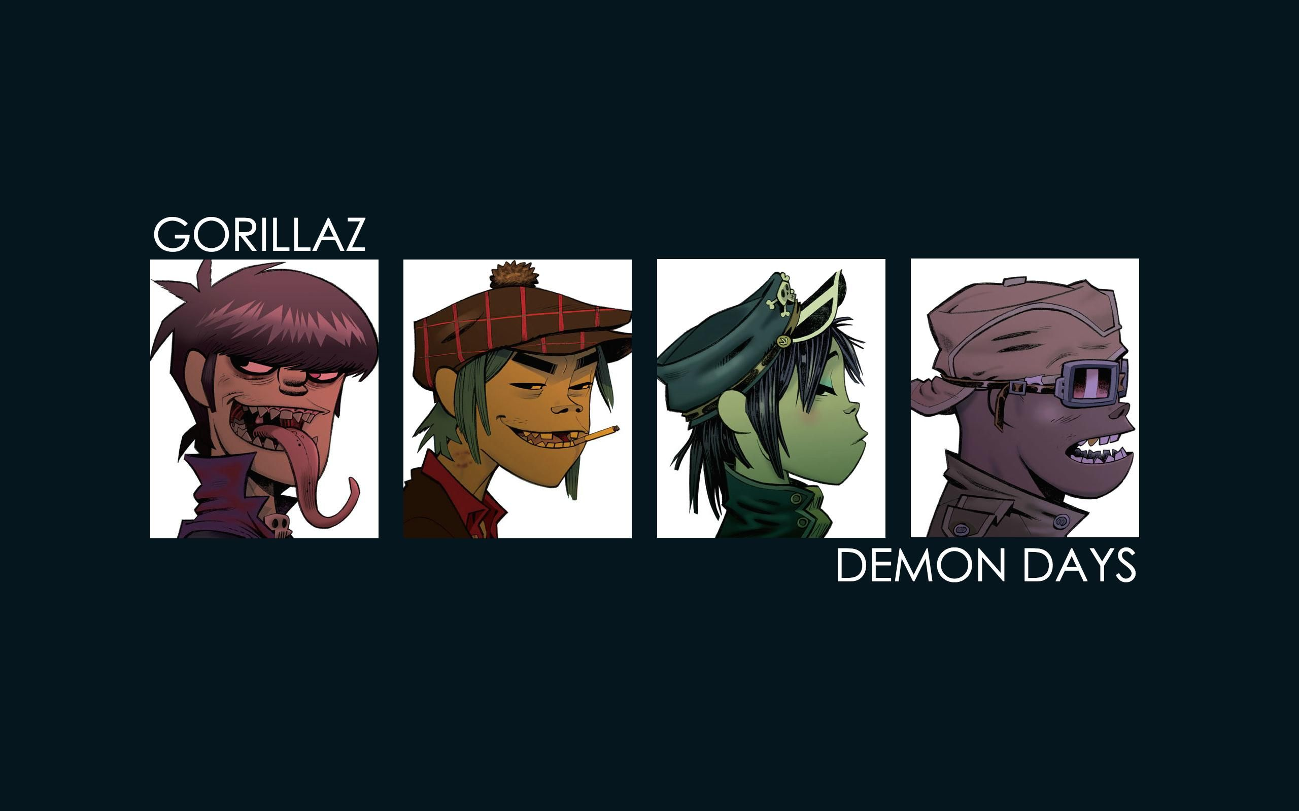 Gorillaz Demon Days Wallpaper Picture With High Resolution 2560x1600