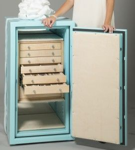 How Much Does a Jewelry Safe Cost? | Locker storage, Home ...