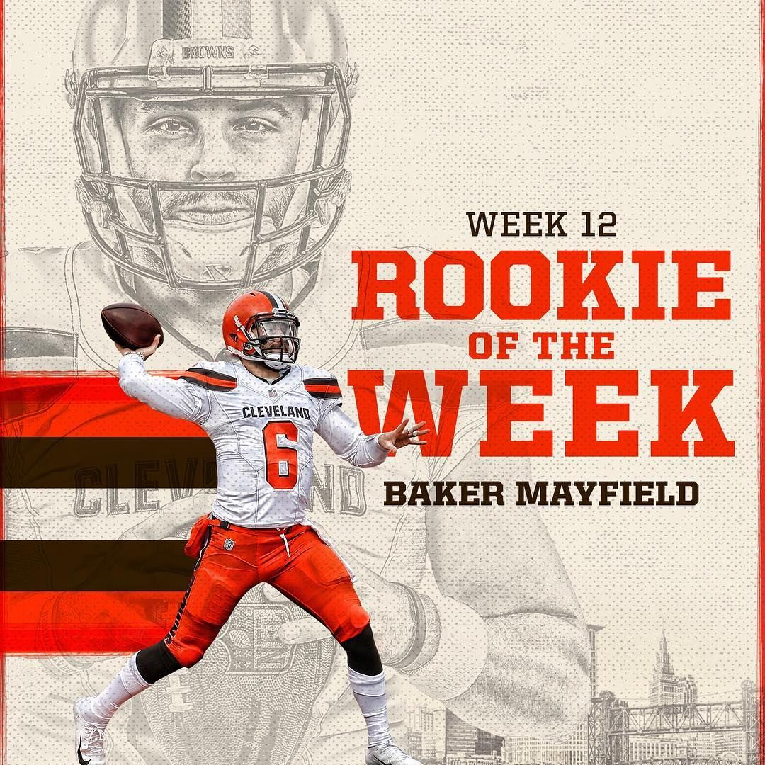"""Cleveland Browns on Instagram """"bakermayfield has won"""