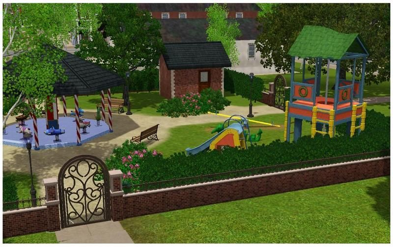 Youlie25's New Riverview Kindergarten | ~ Sims 3 | Sims 3