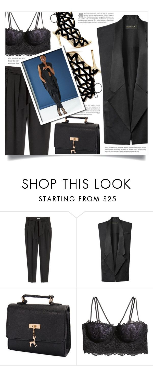 """""""Get The Look -spring teaser-"""" by dolly-valkyrie ❤ liked on Polyvore featuring H&M and GetTheLook"""