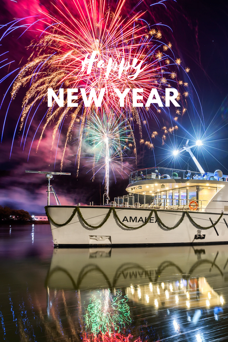 From our family to yours Happy New Year! River cruises