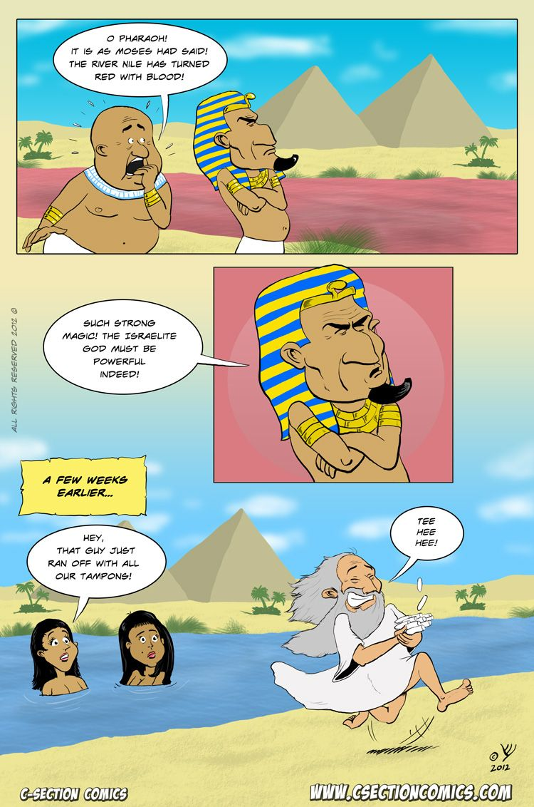 Funny Pictures About Egypt: Biblical Humor. Period.