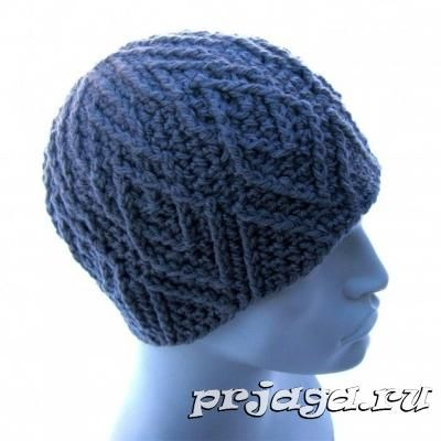 мужская шапка крючком мужчинам мужская шапка вязание и вязаные