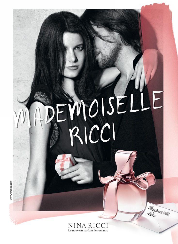 NINA RICCI / Ricci Mademoiselle   MAZARINE   Agence de communication luxe    Fragrance ad, Nina ricci, Hair beauty