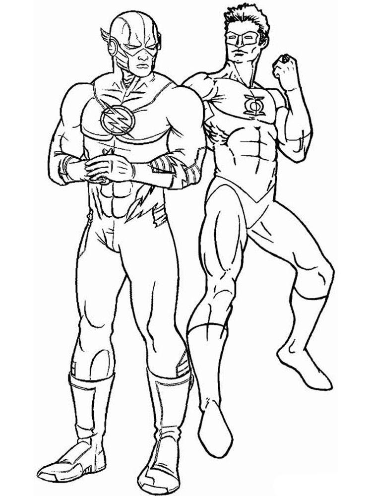 Dc Comic Coloring Sheets di 2020