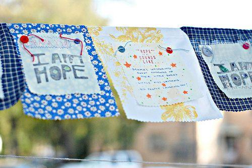 prayer flag craft for children
