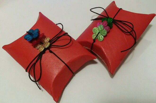 Cajas regalo#rollos WC