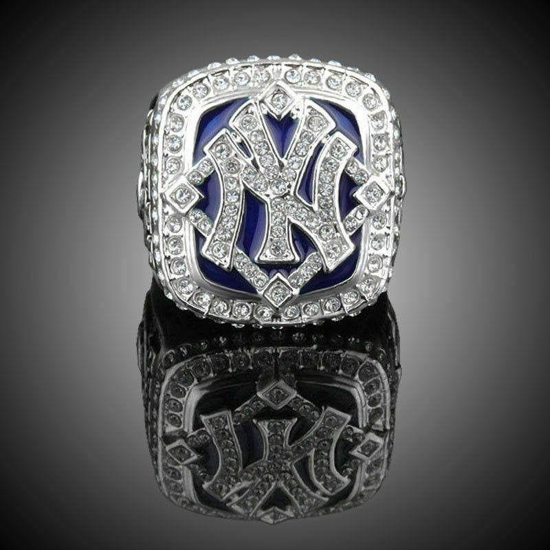 2009 Ny Yankees World Series Championship Ring Jeter 18k Gold Plated Sz11 Usa Yankees World Series Championship Rings Nfl Championship Rings