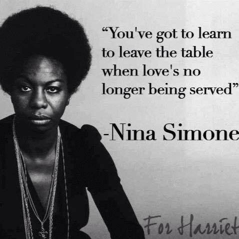 Nina Simone Quotes Nina Simon quote / Insight  Nina Simone Quotes