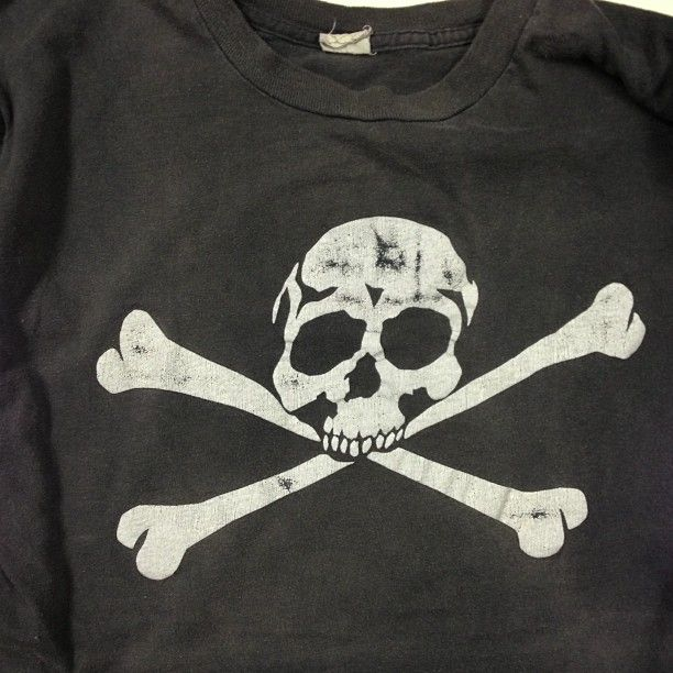 1970's Skull T-Shirt  Size L for sale #vintage #tshirt #Padgram