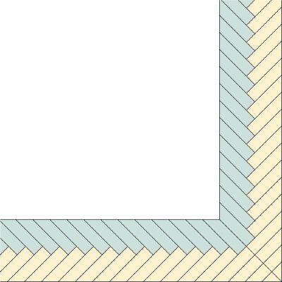 Braided Quilt Border Paper Piecing Pinterest Quilt Border
