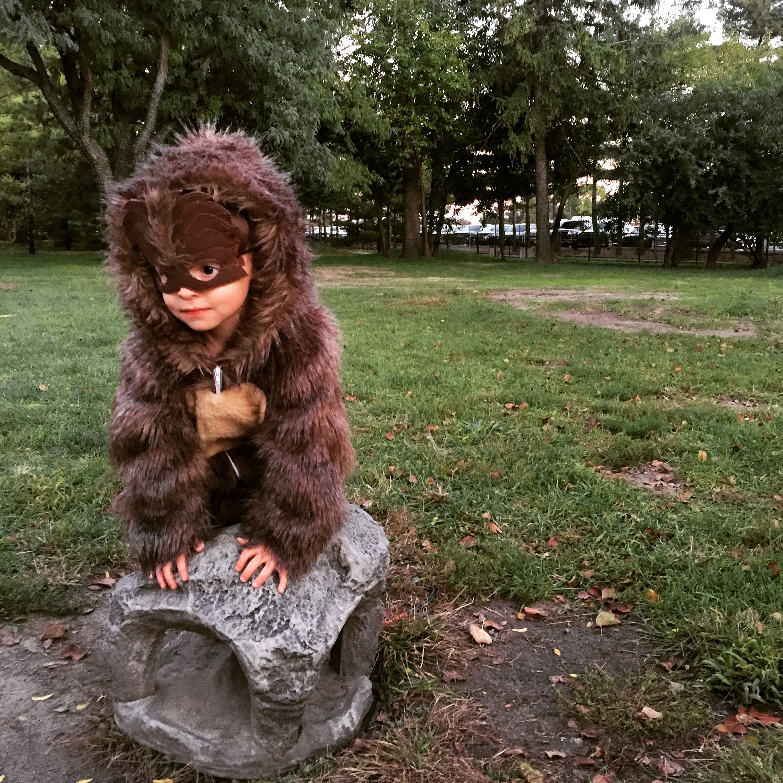 Sasquatch Costume Toddler Boy Bigfoot Costume   Halloween Costume ...