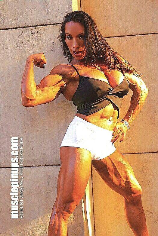 Denise masino - playing with your fantasies female bodybuilder