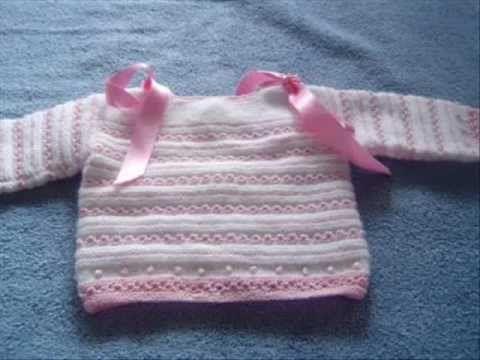 Como hacer una camisita primera postura bebe - YouTube  d6ddfb0028fd