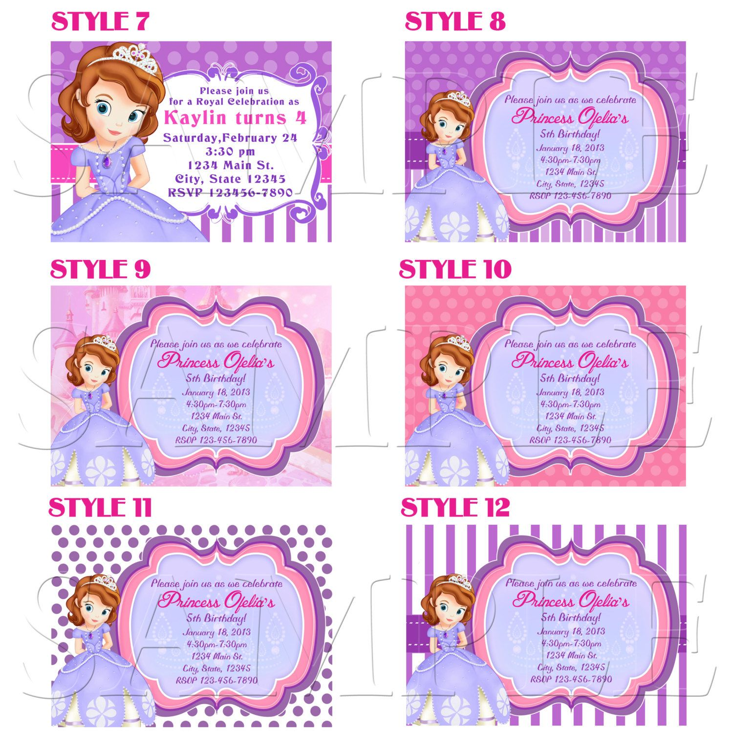 Items similar to sofia the first invitations sofia birthday party items similar to sofia the first invitations sofia birthday party invitations sofia invitation printable stopboris Image collections