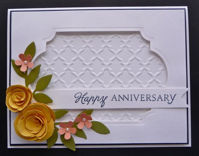 Anniversary Delight! CC486 by MarianneLamb - Cards and Paper Crafts at Splitcoaststampers
