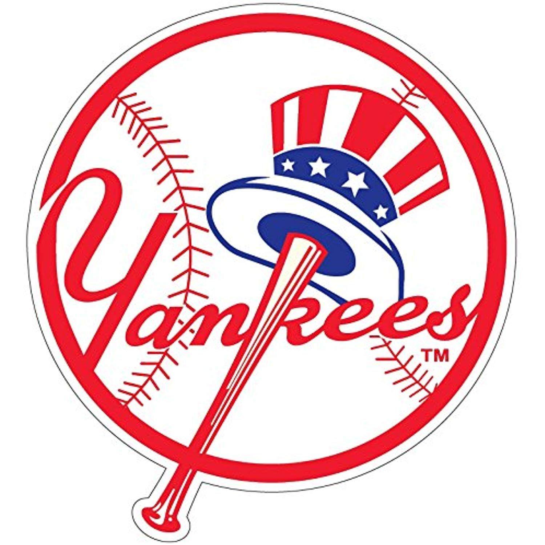 Yankees Ball Wallstickersmurals New York Yankees Logo Yankees Logo Yankees Baseball