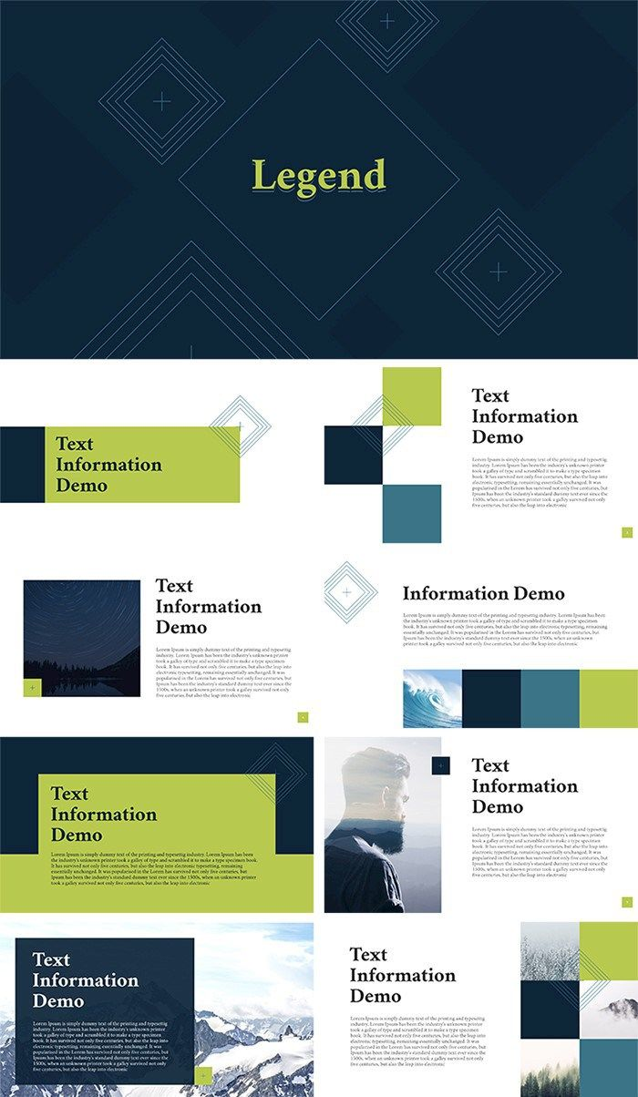 Download 25 free professional PPT templates for projects. Ranging ...