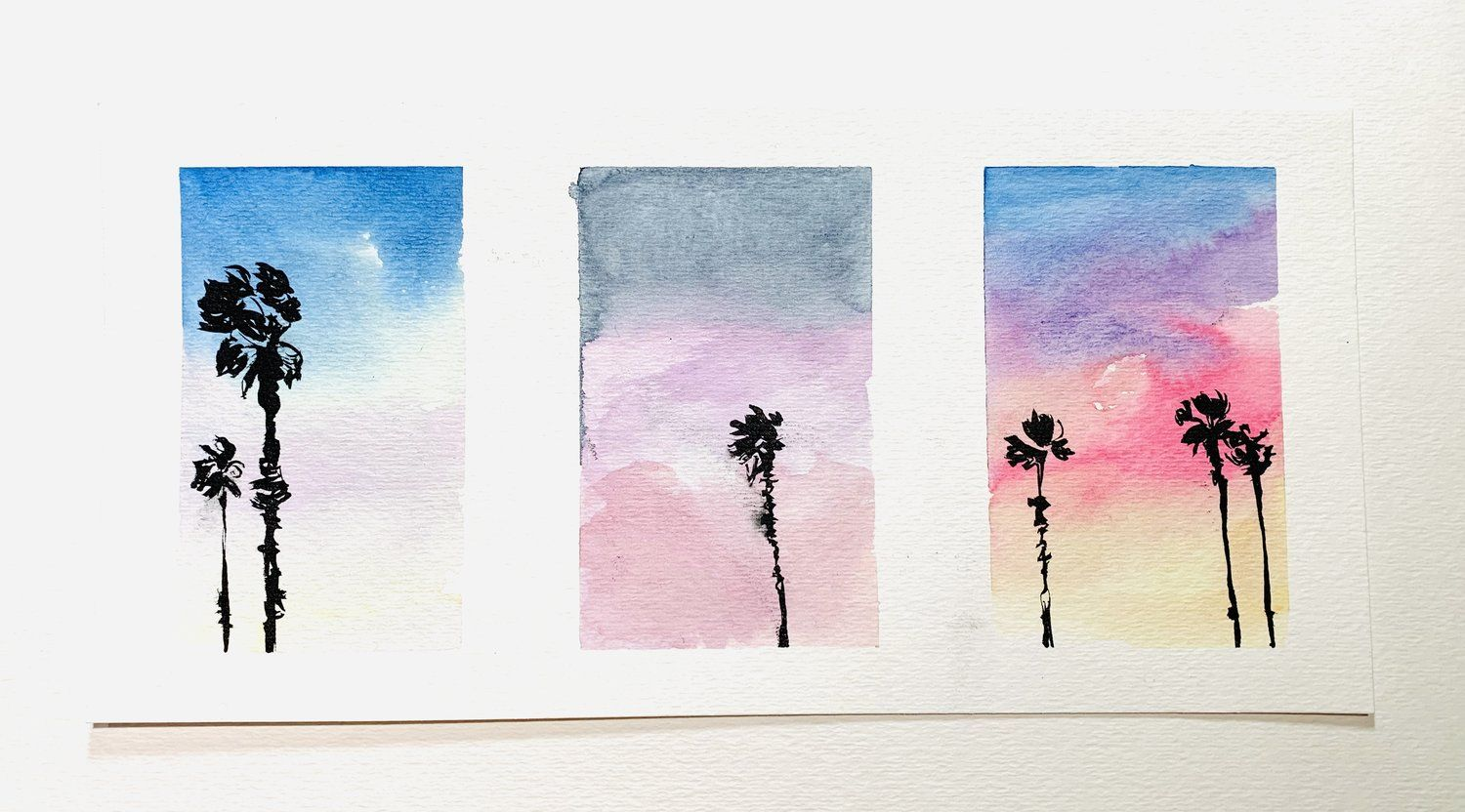 Watercolor Landscape Painting Tutorial Easy Youtube With