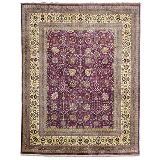Shop for Safavieh Hand-knotted Ganges River Purple/ Light Green Wool Rug (8' x 10'). Get free shipping at Overstock.com - Your Online Home Decor Outlet Store! Get 5% in rewards with Club O!