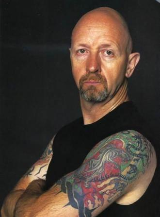 Rob Halford - Lead Singer, Musician of the Heavy Metal Hard Rock music group Judas Priest - METAL GOD!!!