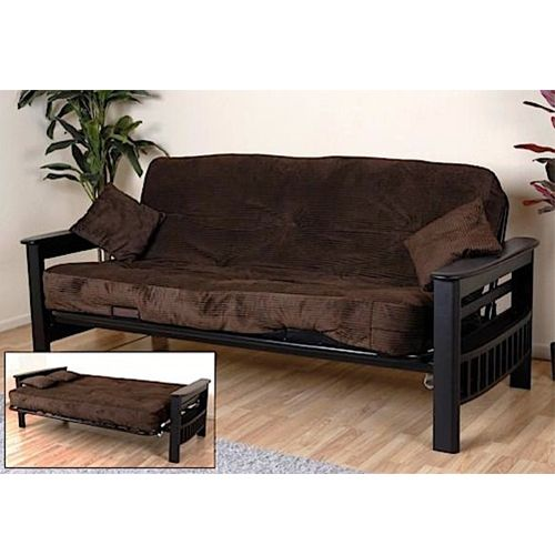 The Tampa Chocolate Futon Is Perfect For Small Es And If You Need To Make Accommodations Guests Staying Overnight Armrest Made Of Pine With