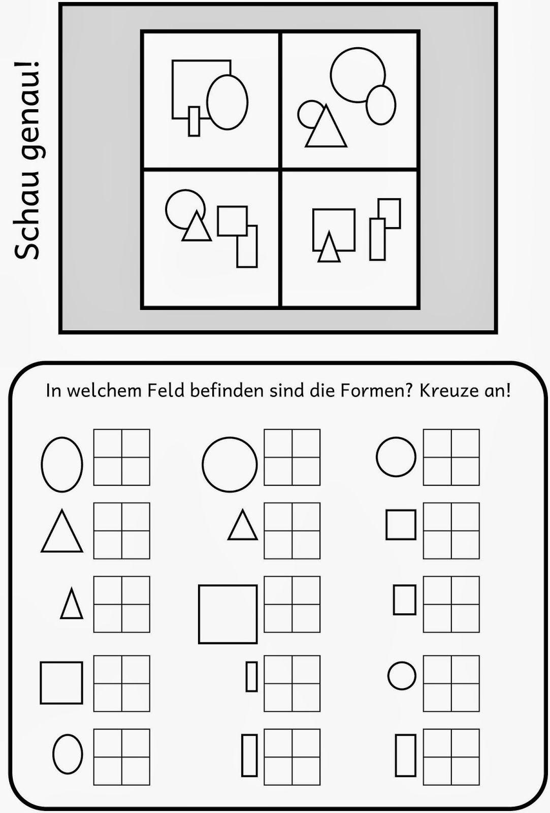 raum lagebeziehung 4 arbeitsbl tter arbeitsbl tter vorschule ergotherapie und vorschule. Black Bedroom Furniture Sets. Home Design Ideas