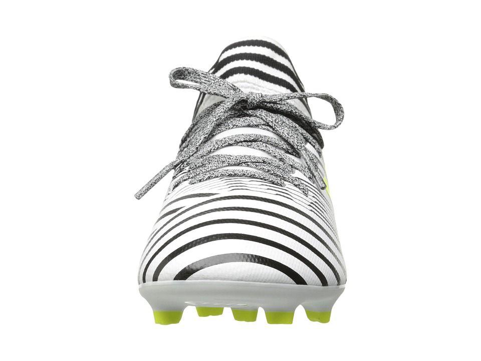 f364edcaeed3 adidas Kids Nemeziz 17.3 FG J Soccer (Little Kid/Big Kid) Kids Shoes  Footwear White/Solar Yellow/Core Black