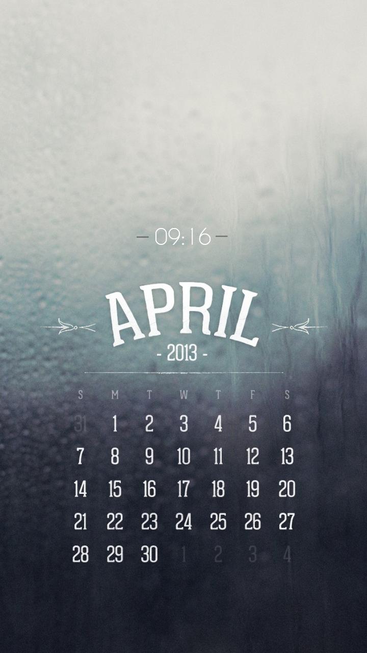 April Android Homescreen by Nexuskiller - MyColorscreen