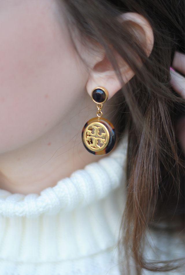 6b32b341e Tory Burch earrings | stylin' | Jewelry accessories, Fashion ...