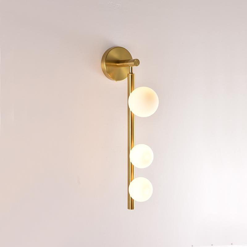 Modern Glass Ball Wall Sconce Indoor Down Spot Light Decorative