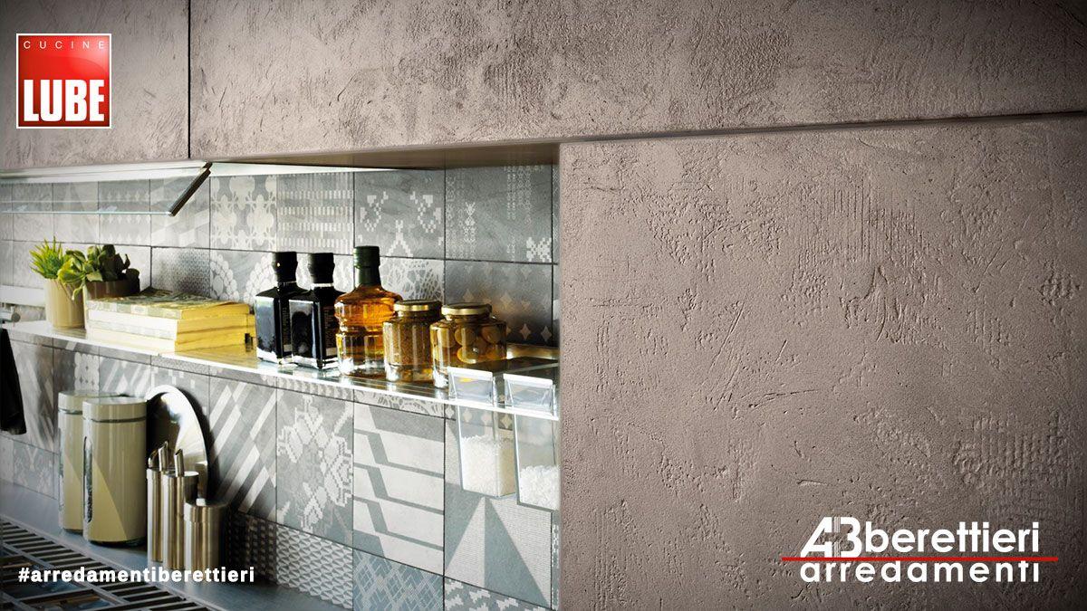 Cucine lube modello oltre presentato a milano nelle sue for Cucine di pregio