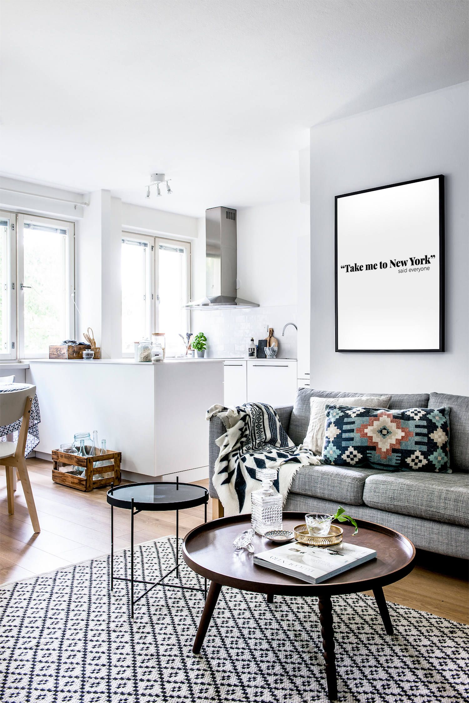 New York Funny Art Print Humorous Sarcastic Funny Wall Art Etsy Living Room Scandinavian Living Decor Living Room Decor